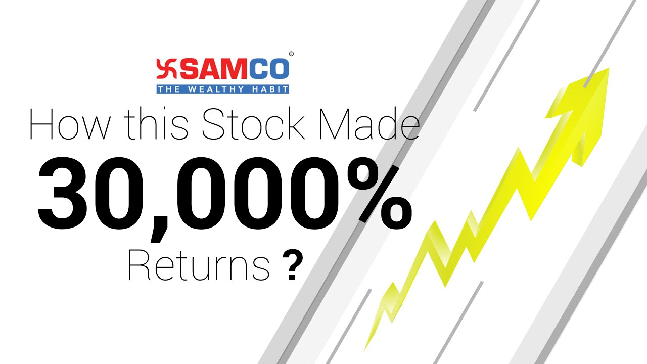 How this Stock Made 30,000% Returns | Stock Market Case Study