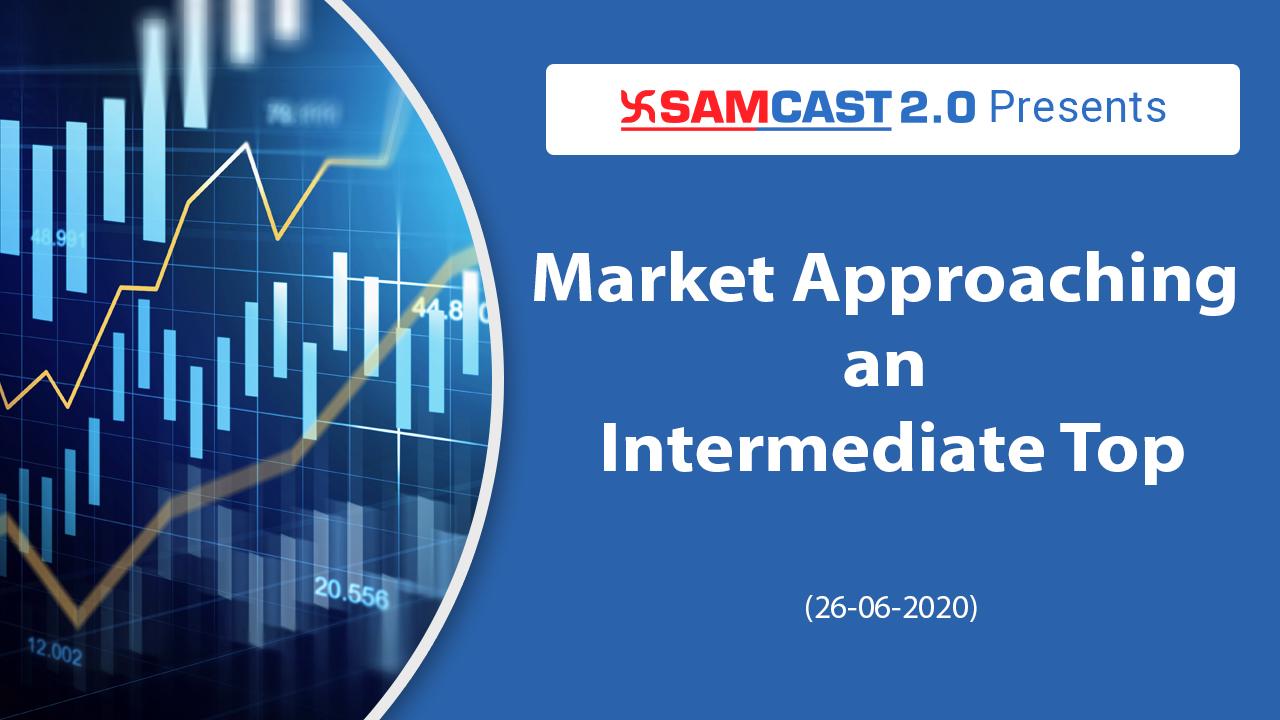 Market Approaching an Intermediate Top