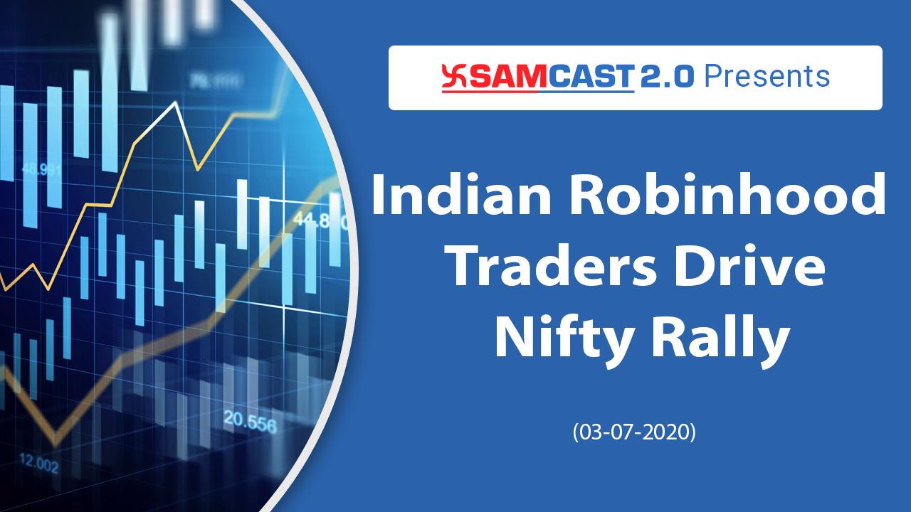 Indian Robinhood Trader's Drive Nifty Rally