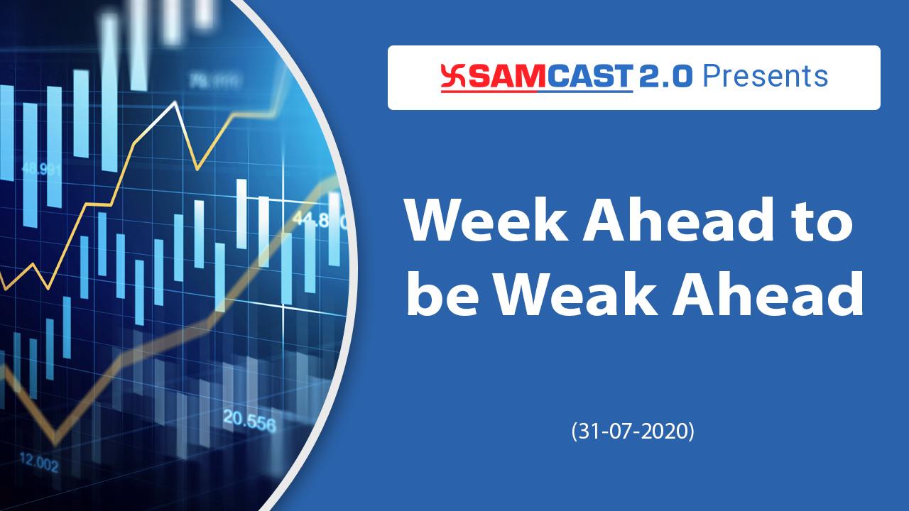 Week Ahead to be Weak Ahead