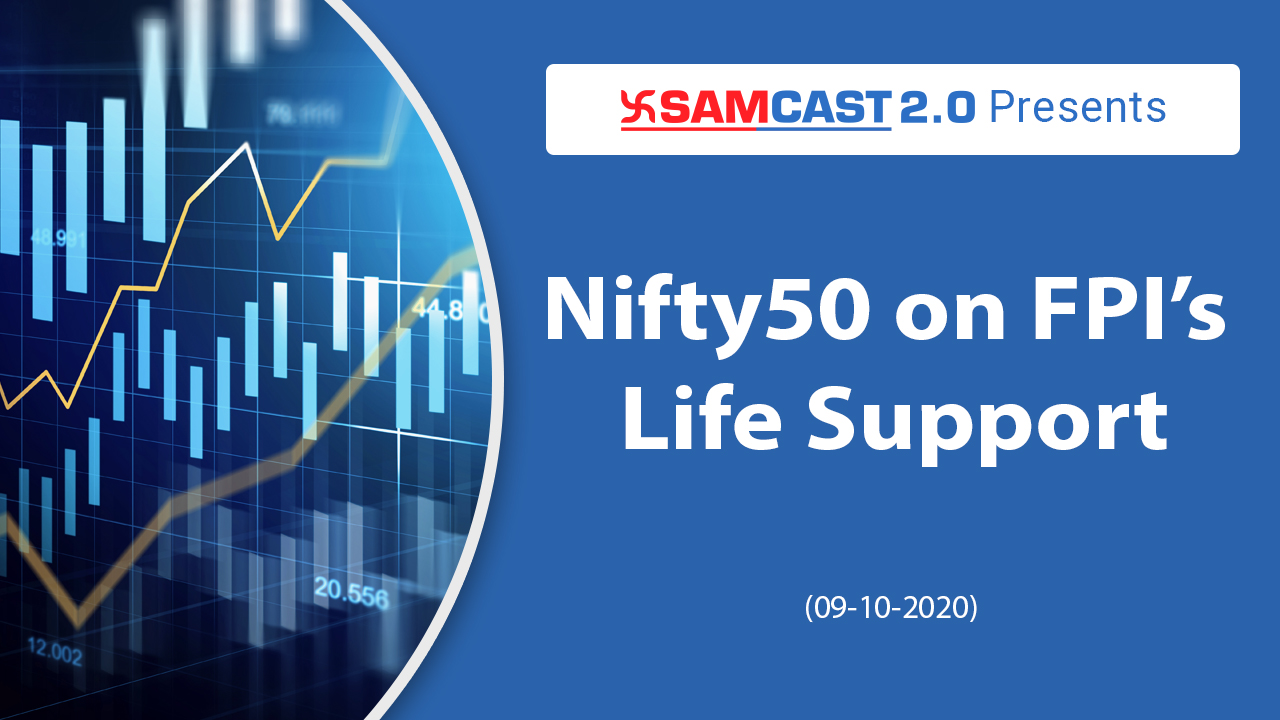 Nifty 50 on FPI's Life Support