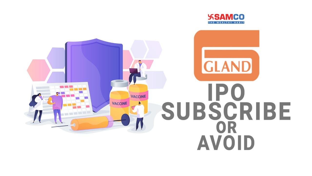 Gland Pharma IPO Review